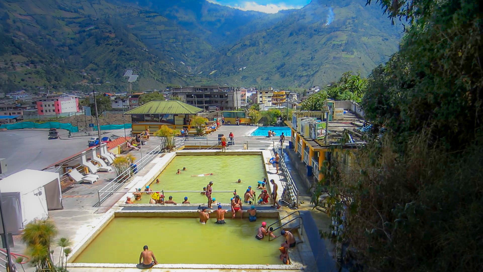 Todo sobre las aguas termales ba os ecuador - Balneario de segura de banos ...